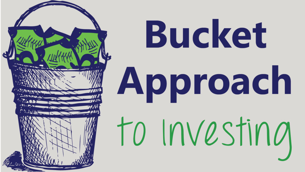 Bucket with money in it