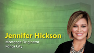 Jennifer Hickson, Mortgage Officer