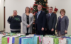 RCB Bank Ark City Donates Christmas Gifts 2019