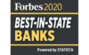 Forbes 2020 best-in-state banks.